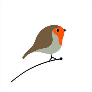 Rødstrupe/ Robin